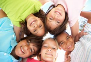 children circle pic