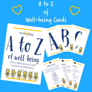 A-Z Wellbeing cards