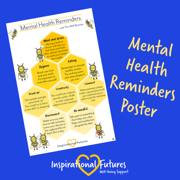 mental health reminders poster